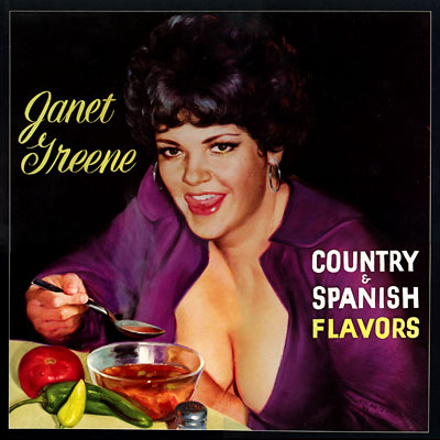 Janet Greene - Country & Spanish Flavors LP