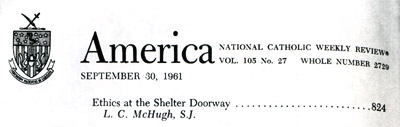 America, the National Catholic Weekly Review