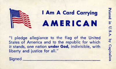 I Am A Card Carrying AMERICAN