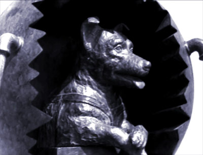 Monument to Laika, the first dog in space