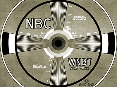 An NBC test pattern - please stand by while WE migrate the CONELRAD videos from BrightCove to YouTube