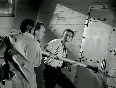 Rod Serling's 'The Shelter' epsiode of The Twilight Zone, first broadcast September 29, 1961: Neighbors assault the family's fallout shelter.